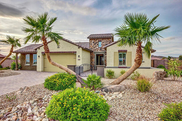 street view of a home in Peoria, Arizona